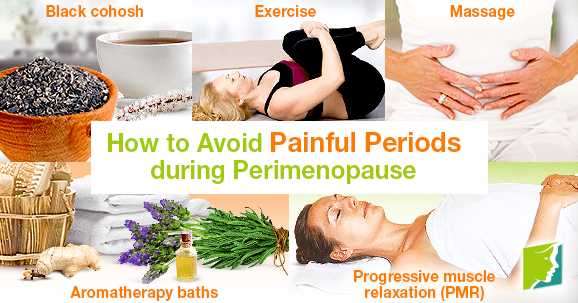How to Avoid Painful Periods during Perimenopause