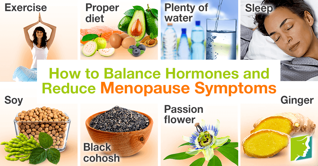 How to Balance Hormones and Reduce Menopause Symptoms