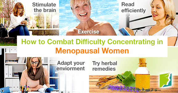 How to Combat Difficulty Concentrating in Menopausal Women