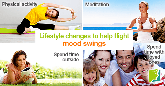 Lifestyle changes to help fight mood swings