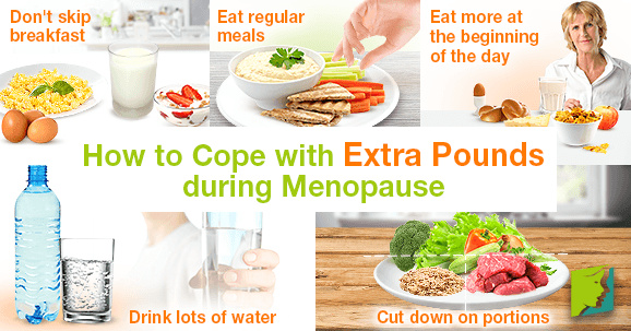 How to Cope with Extra Pounds during Menopause