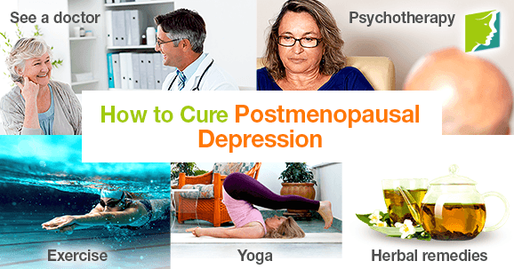 How to Cure Postmenopausal Depression