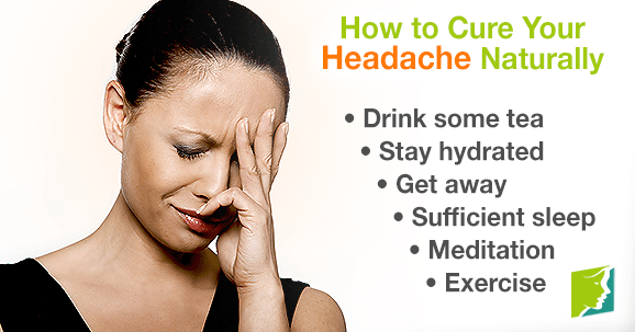How To Cure Headache Naturally At Home