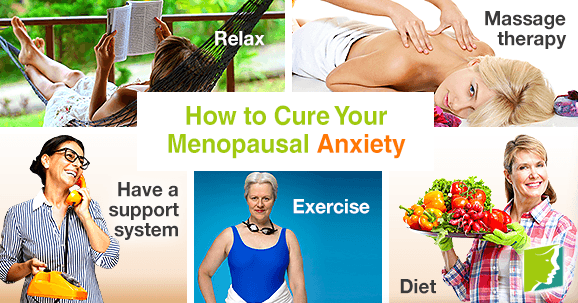 How to cure your menopausal anxiety