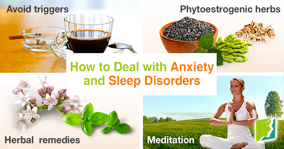 How to deal with anxiety and sleep disorders