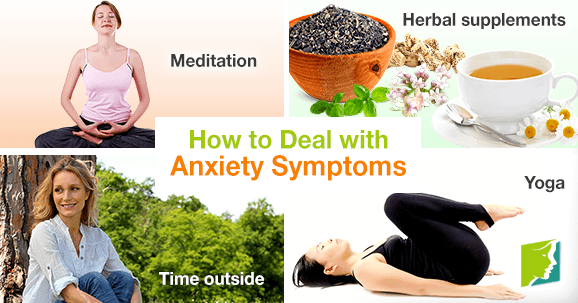 How to Deal with Anxiety Symptoms