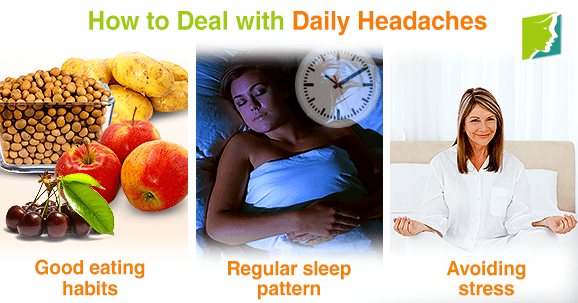 How to deal with daily headaches