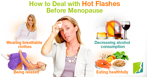 How to Deal with Hot Flashes Before Menopause | Menopause Now