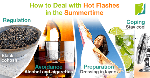 how to help hot flashes during menopause