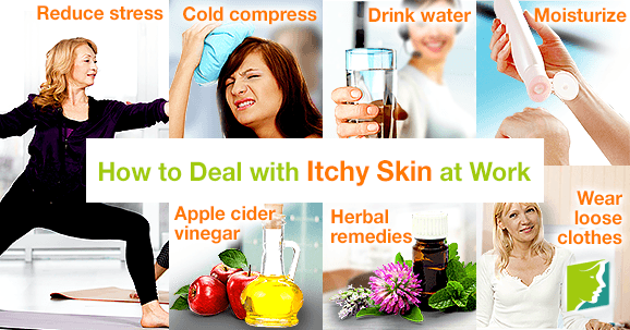 How to Deal with Itchy Skin at Work