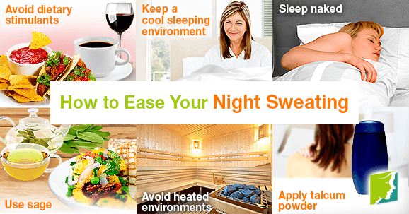 How to Ease Your Night Sweating