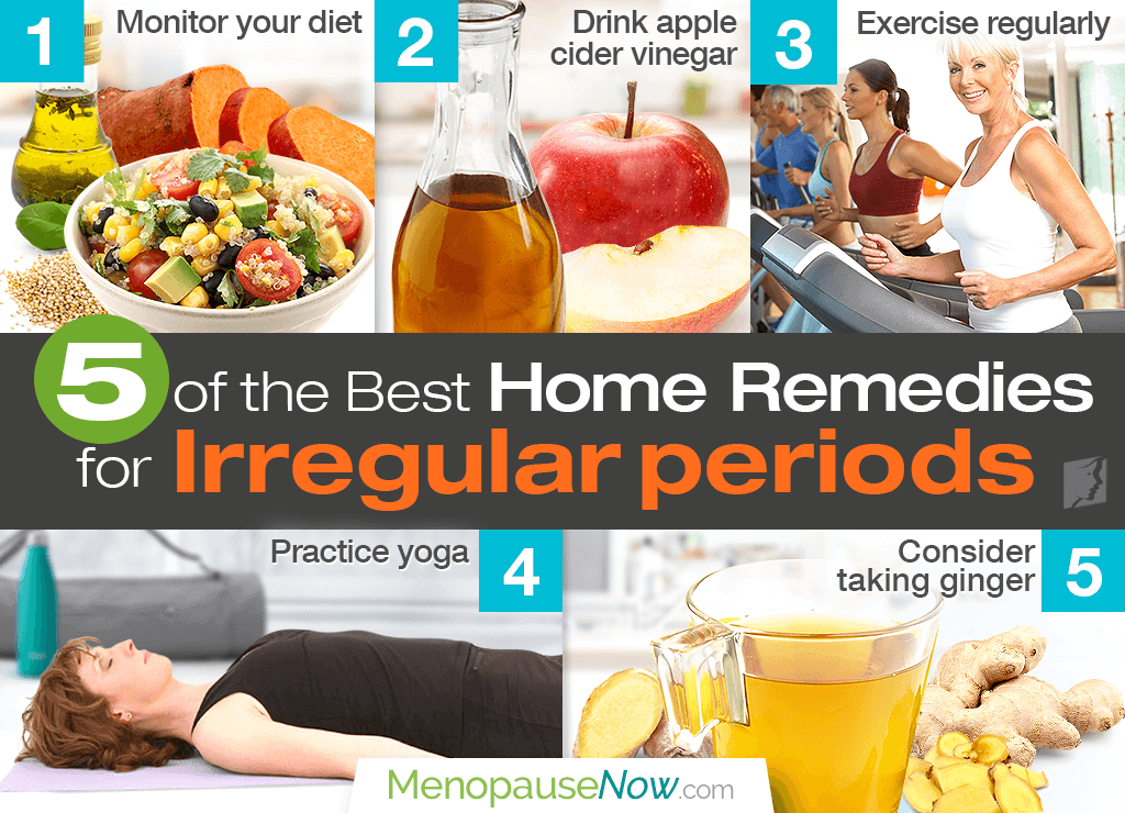 5 of the best home remedies for irregular periods