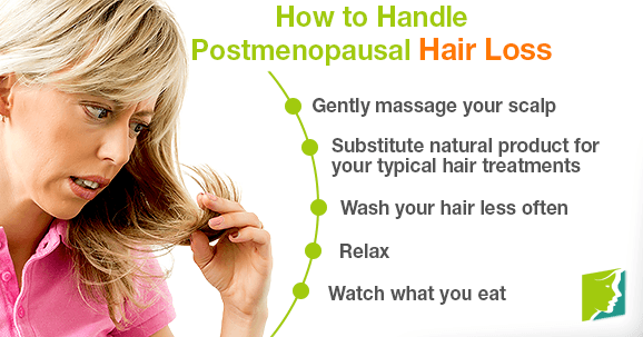How to Handle Postmenopausal Hair Loss