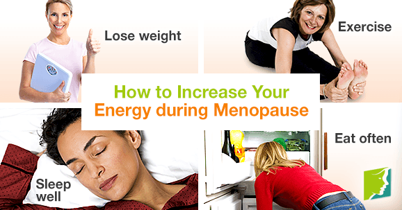 How to increase your energy during menopause