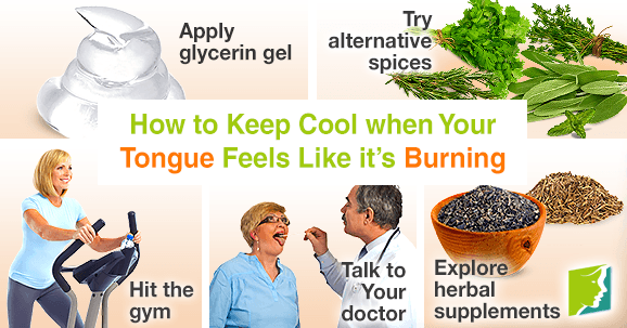 How to Keep Cool when Your Tongue Feels Like it's Burning