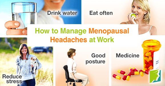 How to manage menopausal headaches at work