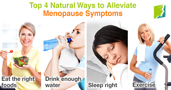 Top 4 natural ways to alleviate menopause symptoms