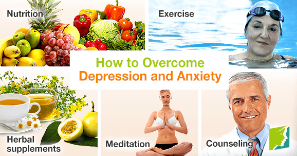How to Overcome Depression and Anxiety