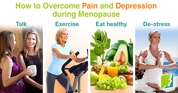 Healthy habits are beneficial ways to help overcome pain and depression.