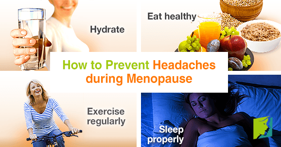 How to Prevent Headaches during Menopause