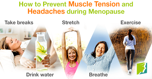 How to Prevent Muscle Tension and Headaches during Menopause