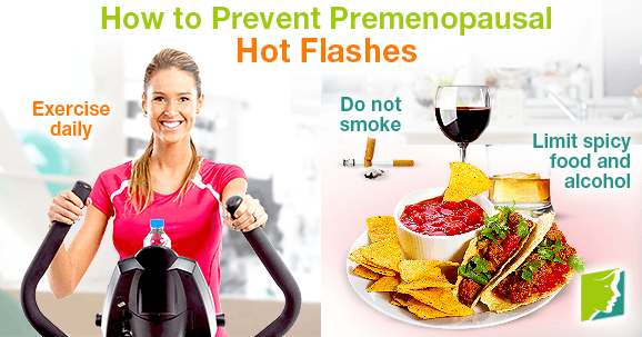 How to Prevent Premenopausal Hot Flashes