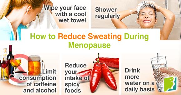 5 ways to reduce sweating