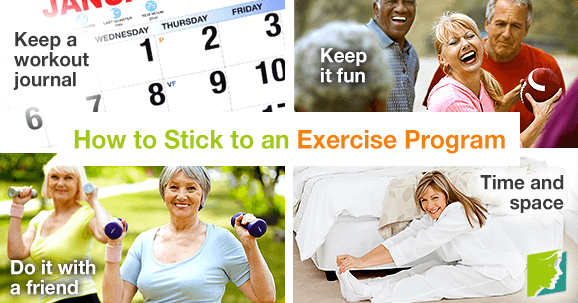 How to Stick to an Exercise Program