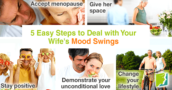 5 easy steps to deal with your wife's mood swings