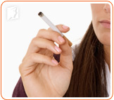 Smoking is a trigger of irregular periods.