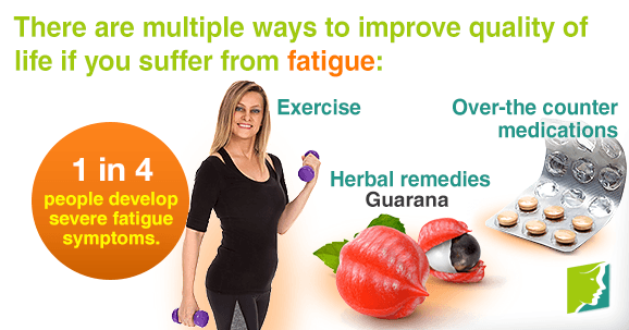 There are multiple ways to improve quality of life if you suffer from fatigue