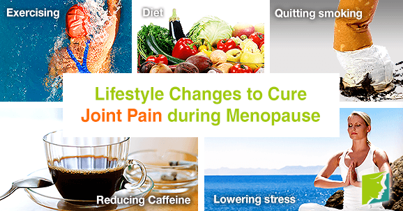 Lifestyle Changes to Cure Joint Pain during Menopause