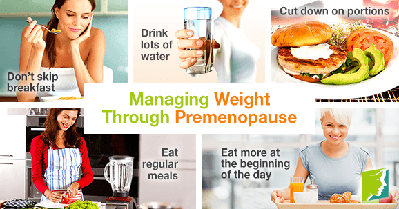 Managing Weight Through Premenopause