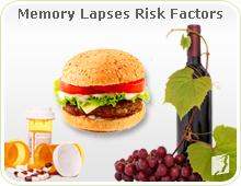 Processed food and alcohol: memory lapses risk factors