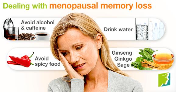 Dealing with menopausal memory loss