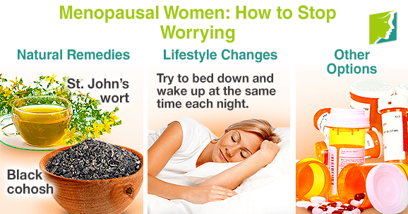 Menopausal Women: How to Stop Worrying