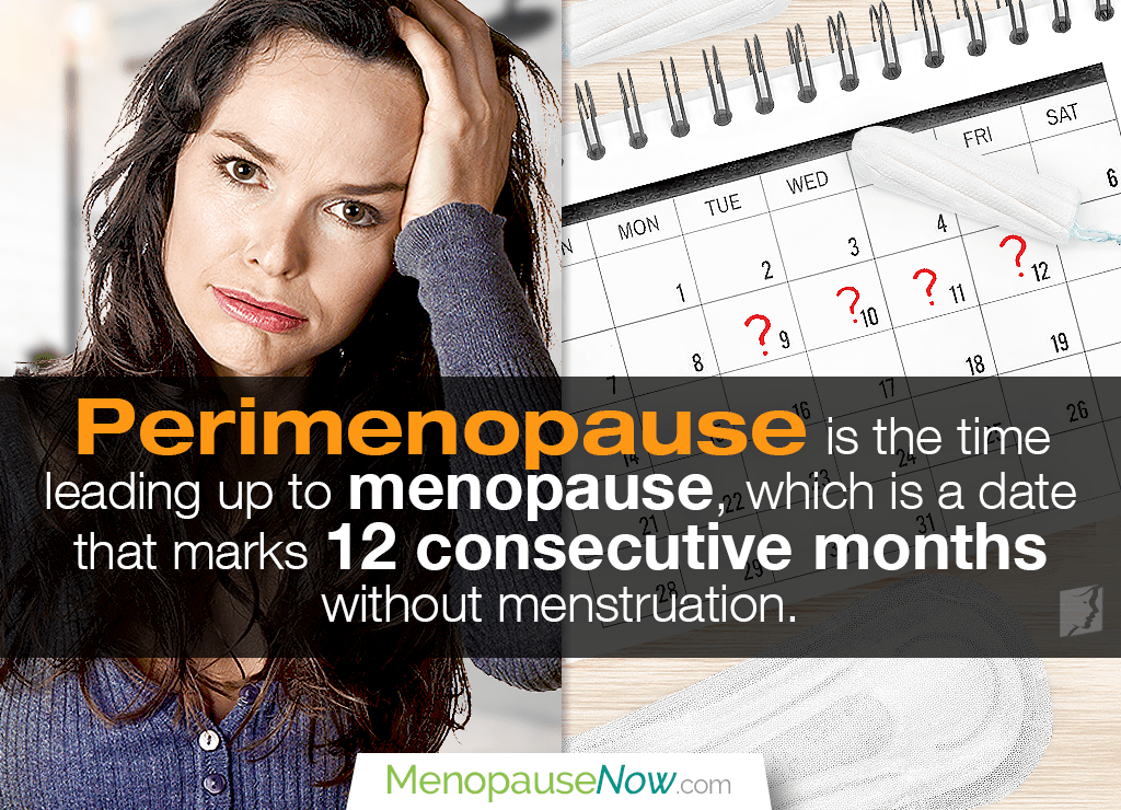 Missing periods does not mean that you are in menopause