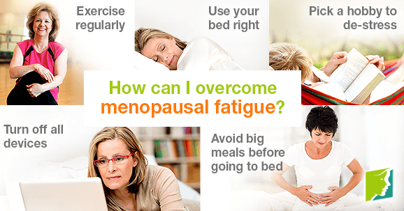 How can I overcome menopausal fatigue?