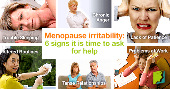 Menopause Irritability: 6 Signs it is Time to Ask for Help