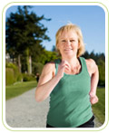 Menopause symptoms walking