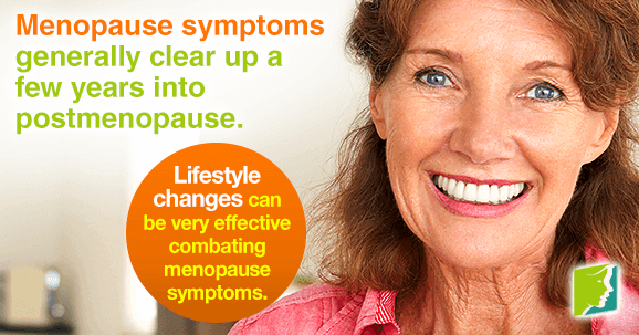 Lifestyle changes can be very effective combating menopause symptoms