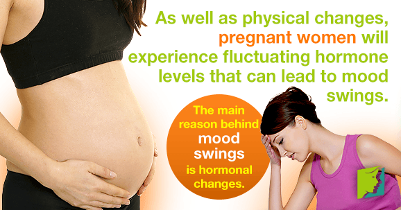 During early pregnancy, mood swings seem to be unpredictable