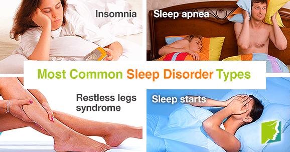 Most Common Sleep Disorder Types