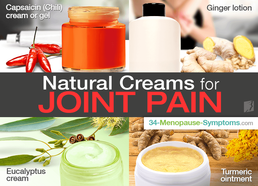 Natural Creams for Joint Pain