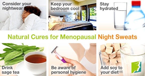 Natural Cures for Menopausal Night Sweats