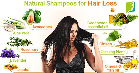Natural Shampoos for Hair Loss