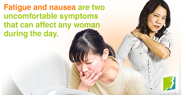 Nausea and Fatigue: the Link1