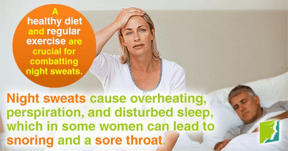 Night Sweats, Snoring, and Sore Throats