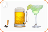 Avoid alcohol and cigarettes in order to alleviate osteoporosis.