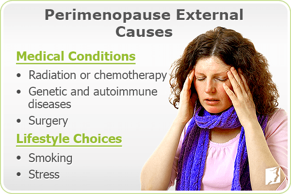 Perimenopause Causes 1